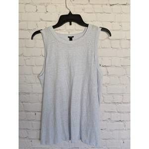 J.CREW | Size L Tie Back Tank Top Light Blue